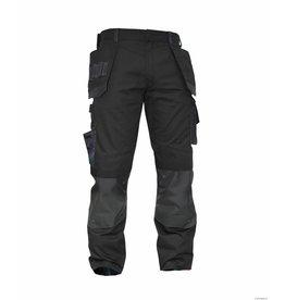 Dassy Multitaschen Bundhosen schwarz-grau
