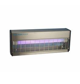 IPX4 met 2 UV-lampen van 36 Watt