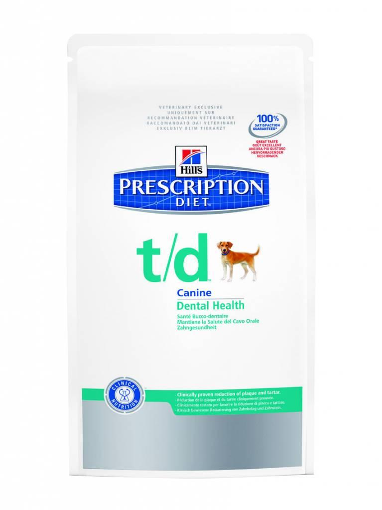 Hill's Hill's Prescription Diet Canine t/d 3 kg