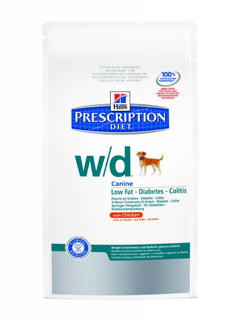 Hill's Hill's Prescription Diet Canine w/d with Chicken 12kg