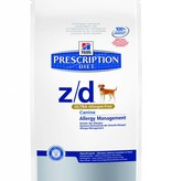 Hill's Hill's Prescription Diet Canine z/d ULTRA Allergen-Free 3kg