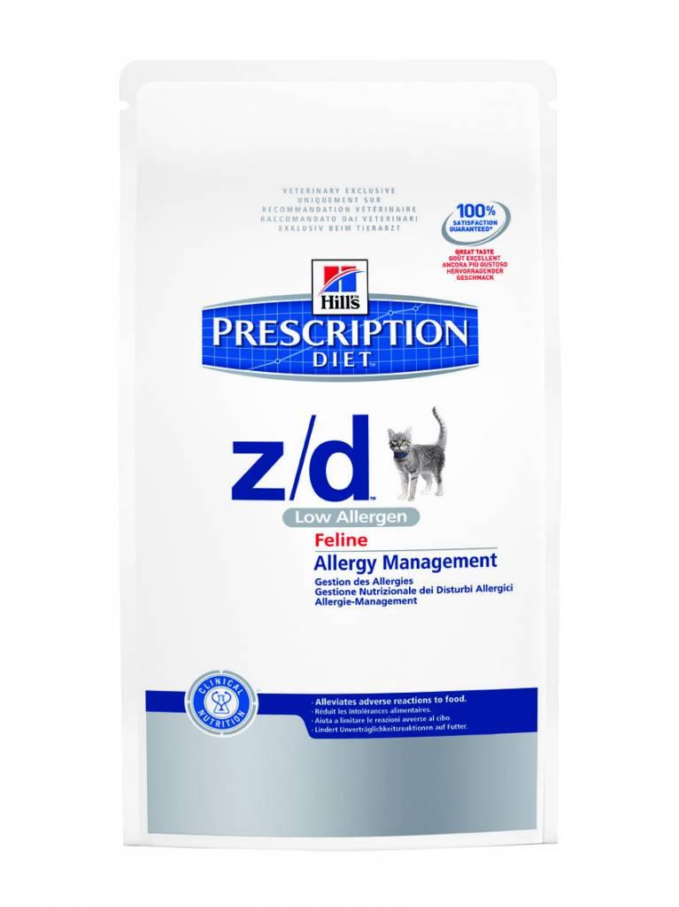 Hill's Hill's Prescription Diet Feline z/d Low Allergen 2kg