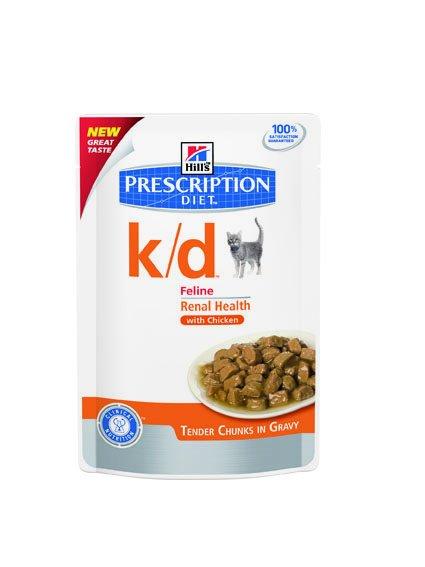Hill's Hill's Prescription Diet Feline k/d with Chicken 12x 85gr