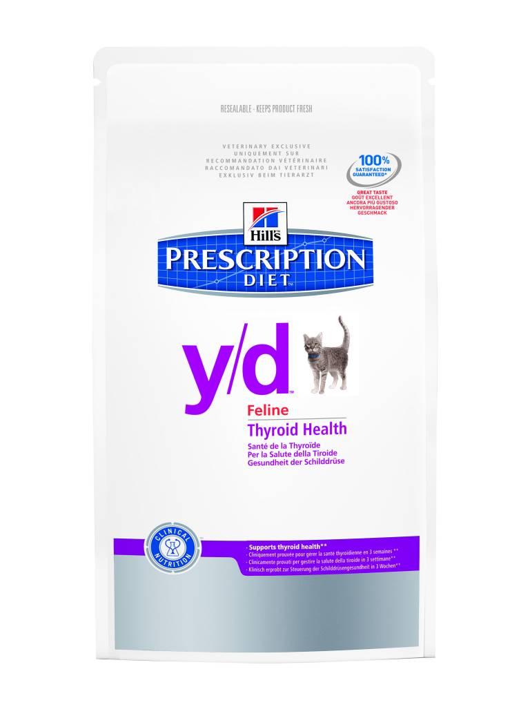 Hill's Hill's Prescription Diet Feline y/d 1,5kg