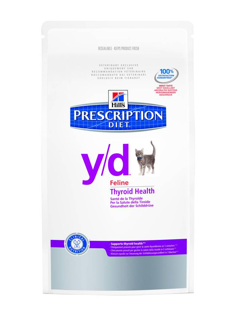 Hill's Hill's Prescription Diet Feline y/d 5kg