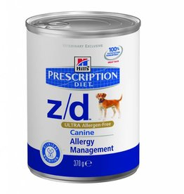 Hill's Hill's Prescription Diet Canine z/d ULTRA Allergen-Free 12x 370gr