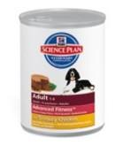 Hill's Hill's Science Plan Canine Adult Medium Savoury Chicken 12x 370gr