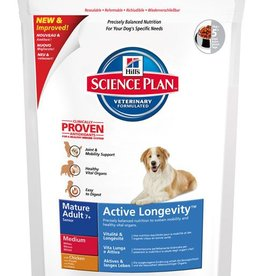 Hill's Hill's Science Plan Canine Mature Adult 7+ Active Longevity Medium with Chicken 1kg