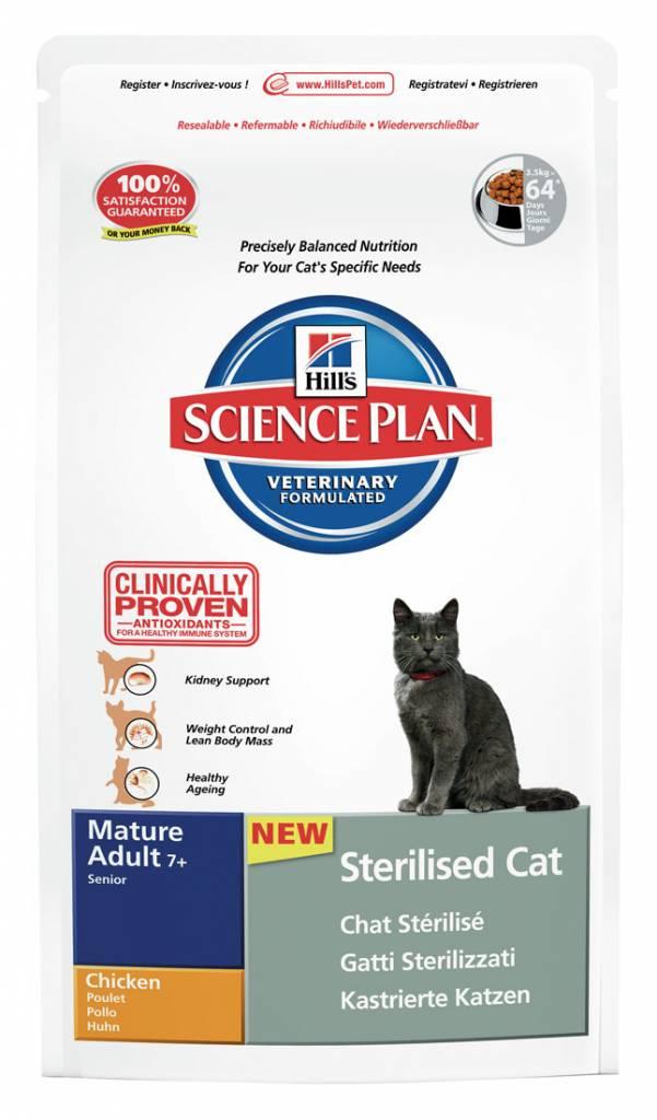 Hill's Hill's Science Plan Feline Mature Adult 7+ NeuteredCat Chicken 3,5kg