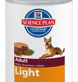 Hill's Hill's Science Plan Canine Adult Light with Chicken 12 x370gr