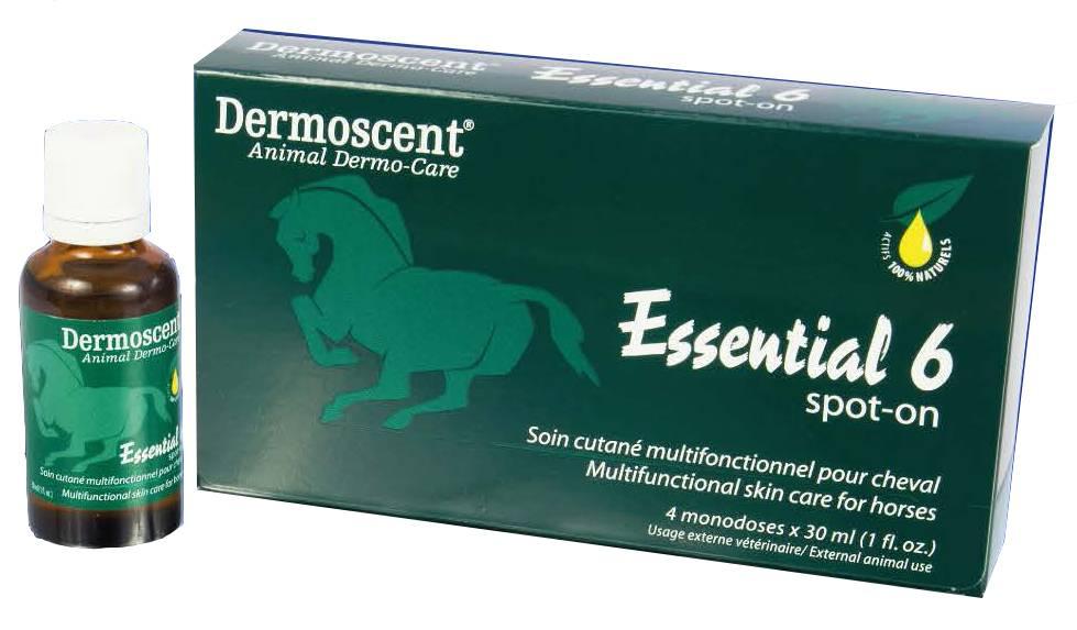 Dermoscent Dermoscent Essential 6 Spot-on Paard (4x30ml)