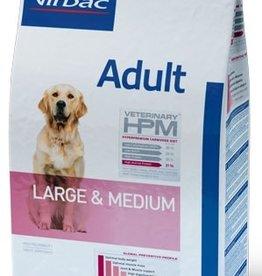 Virbac VIRBAC HPM ADULT DOG LARGE & MEDIUM 12KG