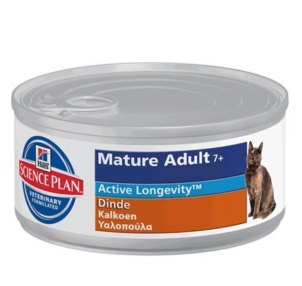 Hill's Hill's Science Plan Feline Mature Adult 7+ with Turkey 24x 85gr
