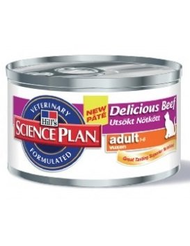 Hill's Hill's Science Plan Feline Adult Delicious Beef 24x 85gr