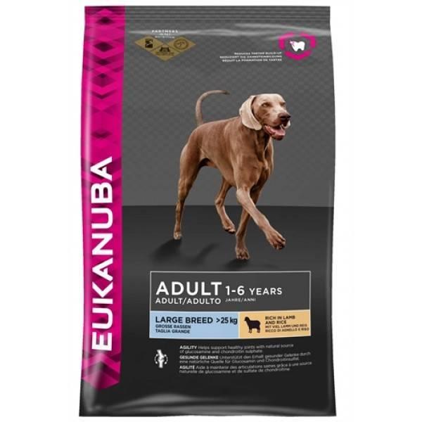 EUKANUBA EUKANUBA DOG ADULT LARGE BREED (LAM) 2,5 KG