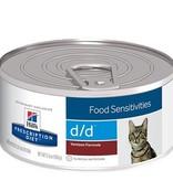 Hill's Hills Feline Kat Prescription Diet d/d Venison 24x 156gr