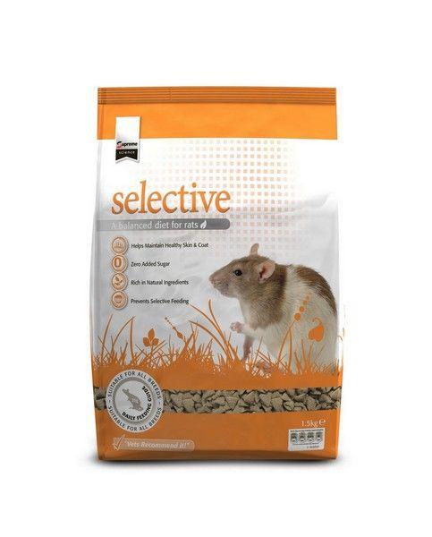 SUPREME PETFOODS SCIENCE SELECTIVE RAT 1,5KG