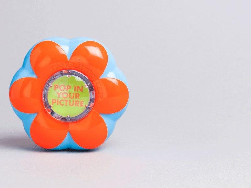 Tangle Teezer® Flower Pot Popping Purple