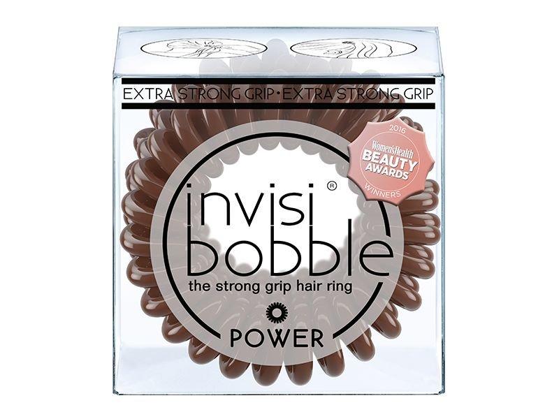 invisibobble® POWER Pretzel Brown