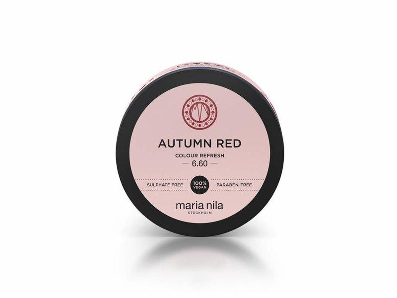 Maria Nila Colour Refresh Autumn Red