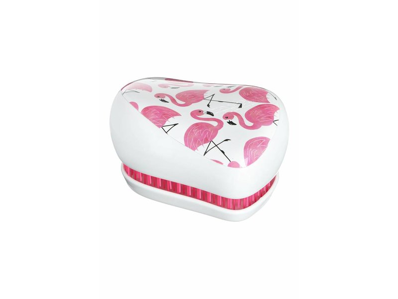 Tangle Teezer® Compact Styler Skinny Dip White Flamingo