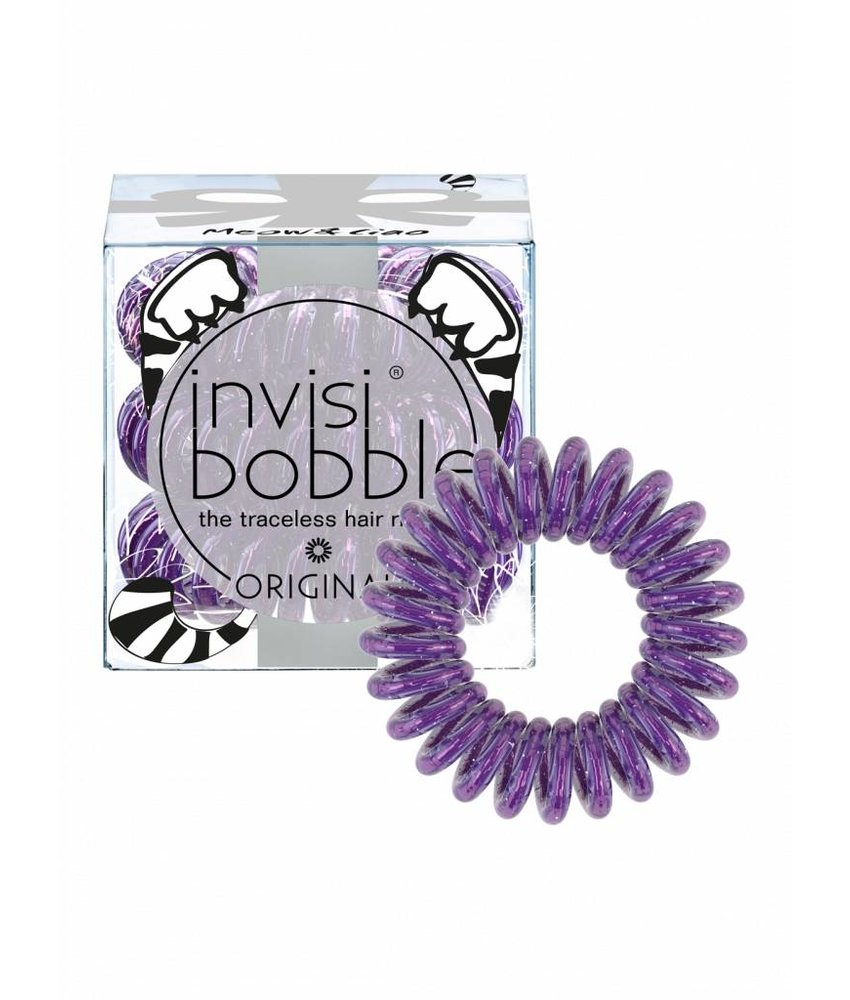 invisibobble® ORIGINAL I Live in Wonderland Limited Collection Meow & Ciao