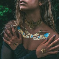 Egyptian Inspired Temporary Flash Tattoos ǀ IAMU Collective