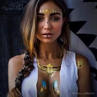 Egyptisch Geïnspireerde Tijdelijke IAMU Tattoos