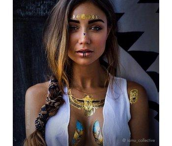 IAMU Collective Flash Tattoos ǀ Mimi Egyptian