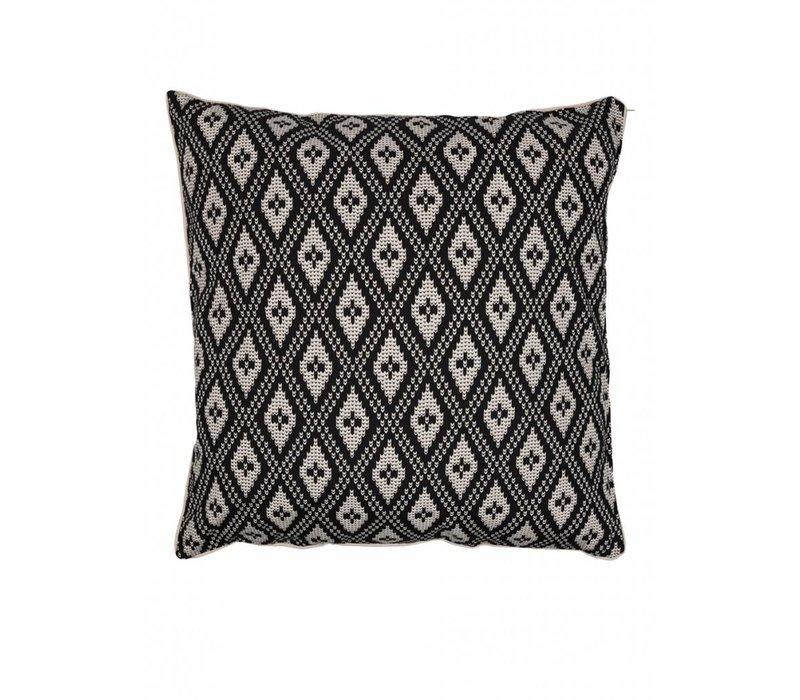 Antique skull cushion ǀ Femme Nouveau ǀ Black & white