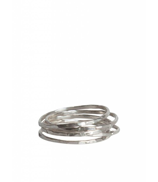 Route508 Silver Stackable Rings