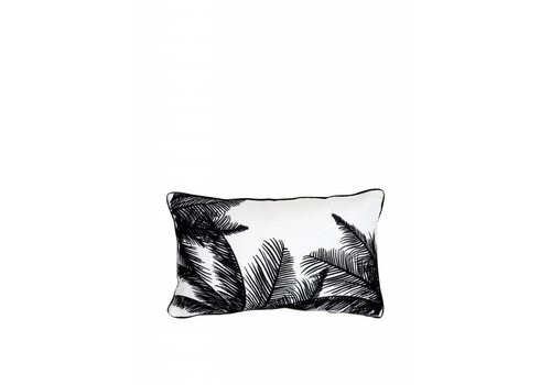 'Palm tree' cushion ǀ 50x30 ǀ White