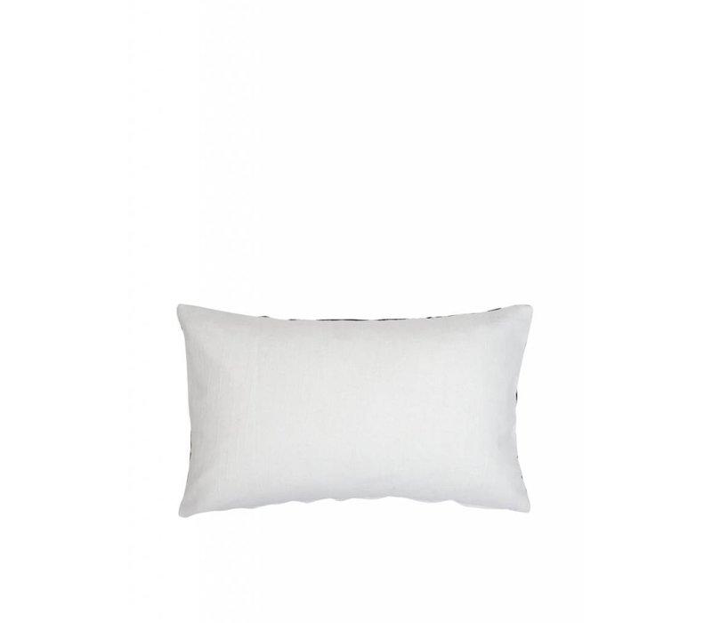 'Ikat' cushion ǀ 50x30 ǀ Black