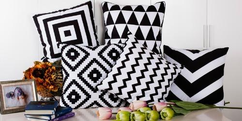 Kussens woonkamer design je woonkamer scandinavisch inrichten tips and tricks - Zwart design lounge en witte ...
