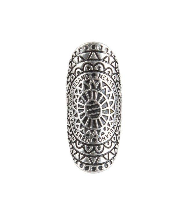 Rove Mandala Ring ǀ Menssana