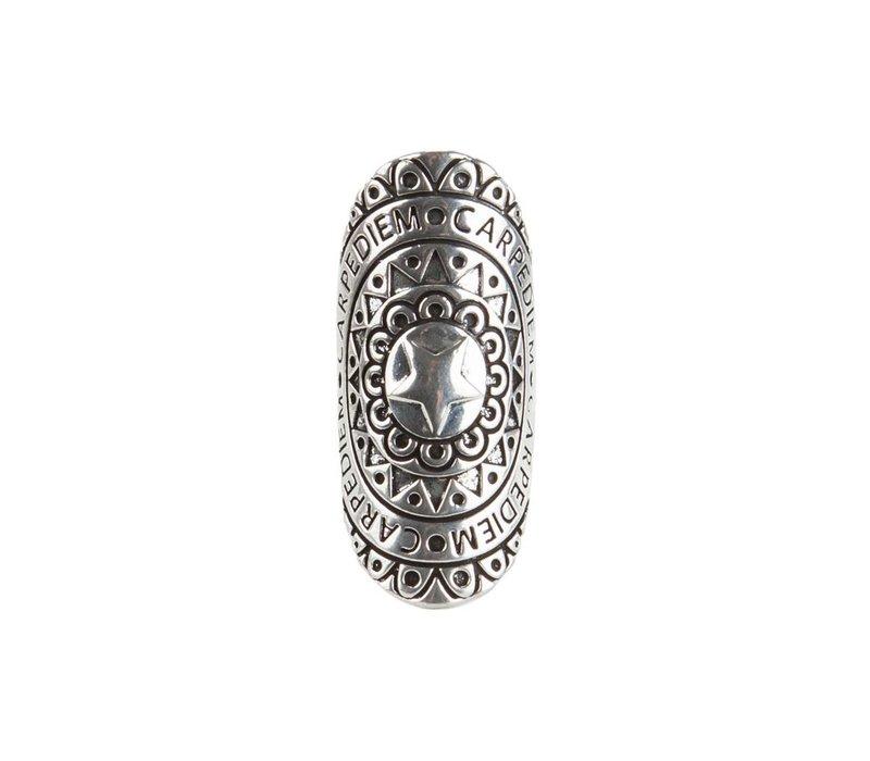 Mandala Ring ǀ Carpe Diem