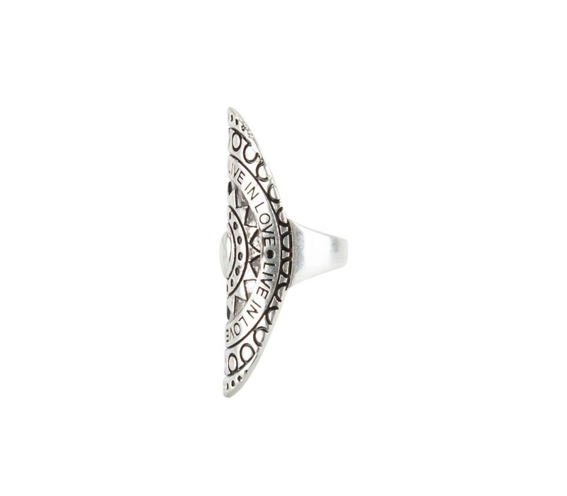 Grote Mandala Statement Ring ǀ Live in Love