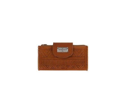 Mahiya Leather Leather Wallet | Zambi | Tan