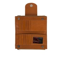Leather Wallet | Zambi | Tan