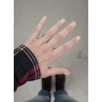 Stackable Rings ǀ Gold Plated