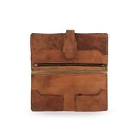 Handmade Leather wallet ǀ Brown