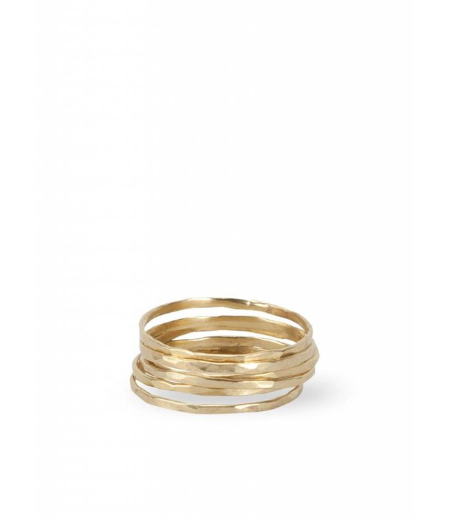 Route508 Stackable Rings ǀ Gold