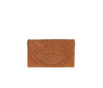 Mahiya Leather Bruine Leren portemonnee | Amity