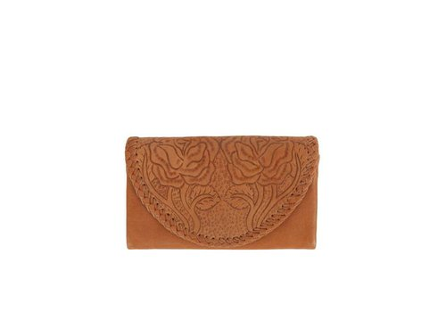 Mahiya Leather Tan Leather Wallet ǀ Amity