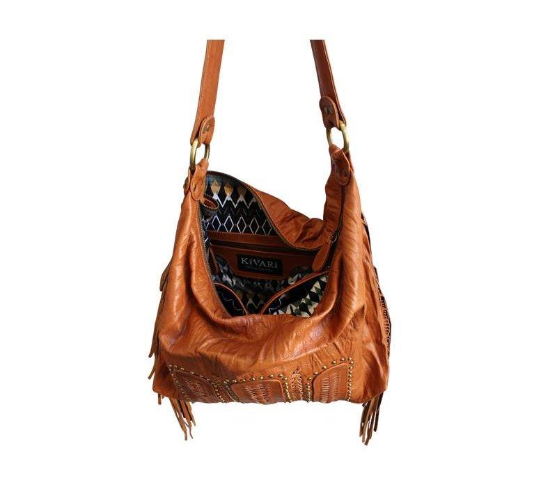 Leather Shoulderbag | Free Soul from KiVARi Leather