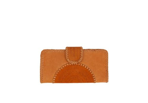 Mahiya Leather Leather Clutch | Valentina