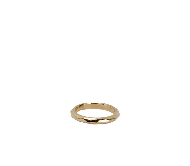 Simple & Chic Stijlvolle Gouden Ring Goldie