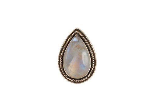 Route508 Gold Ring Delilah | Rainbow Moonstone