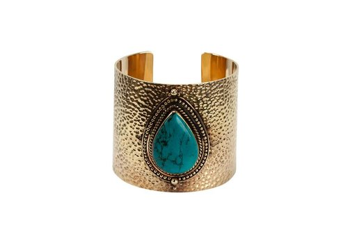 Route508 Gold Bracelet Sheila | Turquoise