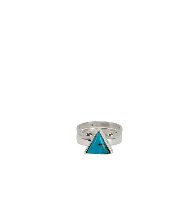 Route508 Silver Ring Sim | Turquoise